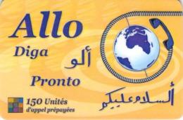 Carte Prépayée - ALLO DIGA PRONTO - 150 UNITES - Andere Voorafbetaalde Kaarten