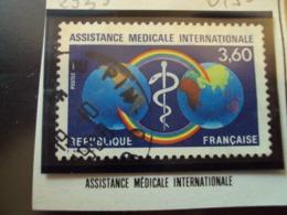 "1980-89  T. Oblitéré N°  2535    ""  Assistance Medicale Internationale "" -  Net   0.50 - France"