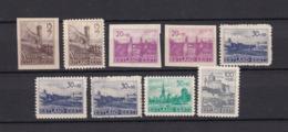 Estland - 1941 - Michel Nr. 4/7+9 - Ungebr./Postfrisch - Occupation 1938-45