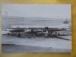 TAP AIR PORTUGAL   DC 7C   AIRLINE ISSUE / CARTE COMPAGNIE - 1946-....: Modern Era