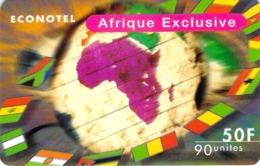Carte Prépayée - ECONOTEL - AFRIQUE EXCUSIVE -  50 F - Frankrijk