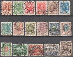 1913 - Quinzième émission - Série Complète N°77 à 92 (Y&T)- 17 Valeurs - Belles Oblitérations - - Oblitérés