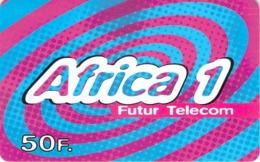 Carte Prépayée - AFRICA 1 - 50 F - Andere Voorafbetaalde Kaarten
