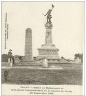 Cpa 51 Valmy , Le Monument Commémoratif Victoire De Valmy , Vierge - Sonstige Gemeinden