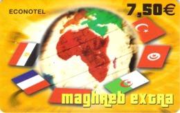 Carte Prépayée - MAGHRB EXTRA  -  7.5 € - France