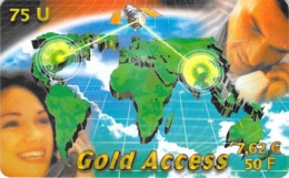 Carte Prépayée - GOLD ACCES   - 50 FF - Andere Voorafbetaalde Kaarten