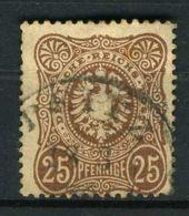 ALLEMAGNE ( POSTE ) : Y&T  N°  34  TIMBRE  BIEN  OBLITERE , A VOIR . - Used Stamps