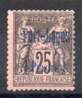 PORT LAGOS - YT N° 4 Signé - Neuf * - MH - Cote: 90,00 € - Port-Lagos (1893-1931)