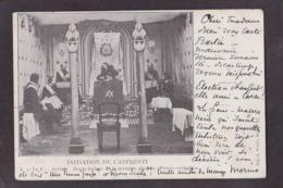 CPA Franc Maçonnerie Masonic Maçonnique Circulé Masonic Voir Texte - Philosophie & Pensées