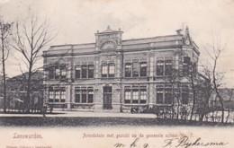 261044Leeuwarden, Arendstuin Met Gezicht Op De Gemeente School. (poststempel 1905)(rechterkant Een Minuscuul Scheurtje) - Leeuwarden
