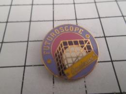319 Pin's Pins : BEAU ET RARE : Thème MARQUES / OMNIMAX FUTUROSCOPE DE POITIERS - Markennamen