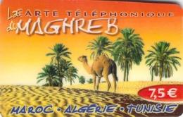 Carte Prépayée - MAGHREB   -  7.5 € - Frankrijk