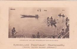 2610154Koninklijke Paketvaart Maatschappij, Langszijde Van Het Stoomschip. - Indonesia
