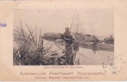 2610156Koninklijke Paketvaart Maatschappij, Visschersvrouw Te Boelongan. - Indonesien