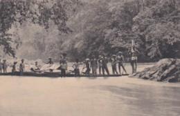 2610164Groet Uit Borneo, Rivierovergang – 1919 (see Corners) - Indonesia