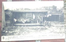 [ AVIATION / BALKANS / SERBIE ] Nos Aviateurs Habitent Dans Des Caisses D'aéroplane. Corresp. Mili Au Dos, 1917. - Guerre 1914-18