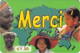 Carte Prépayée - MERCI  -    7.5 € - France