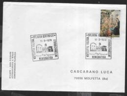 ANNULLO SPECIALE - BOLOGNA CENTRO C.P. - 11.03.1978 - MOSTRA  FILATELICA NUMISMATICA INTERNAZIONALE - SU BUSTA - Expositions Philatéliques