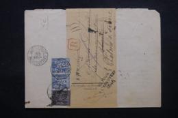 FRANCE - Lettre De Tribunal De Chalon/ Saône En Recommandé En 1893 Pour Chalon Et Retour - L 45182 - Marcophilie (Lettres)