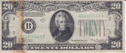 BILLETE DE ESTADOS UNIDOS DE 20 DOLLARS DEL AÑO 1934 A LETRA B NEW YORK  (BANK NOTE) - Billetes De La Reserva Federal (1928-...)