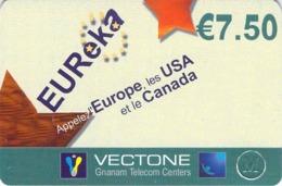 Carte Prépayée - EUREKA   -  7.5 € - Andere Voorafbetaalde Kaarten