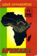 Carte Prépayée - AFRICANA  -  75 UNITES - Andere Voorafbetaalde Kaarten