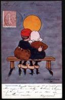 M. M. Vienne, Illustrateur Shepheard, Idylle Lunaire - Shepheard