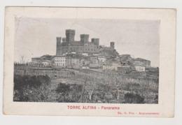 Torre Alfina (VT)  - F.p. - Anni '1910 - Viterbo