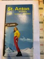 St.Anton Am Arlberg Tyrol Austria - Dépliants Touristiques