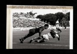 Foto Originale ANSA - Testata Giornalistica - Foto Calciatori Aguileria Volpecina - Fiorentina Genoa '89 - Sport