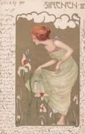 CPA1901 - ILLUSTRATEUR Carl JOZSA - ART NOUVEAU- SIRENEN IV.  (lot Pat 86) - Illustratori & Fotografie