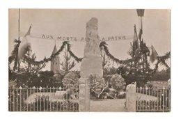 Montbellet - Inauguration Du Monument Aux Morts 6 Aout 1922 - France