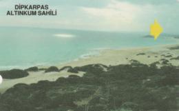 Northern Cyprus - Dipkarpaz Altinkum Sahili (Golden Beach) - Télécartes