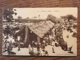 CPA, MALI Actuel  (Afrique Occidentale ,Soudan), Ségou, Le Marché, éd Lauroy, Non écrite - Mali