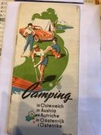 Camping En Autriche Édition 1966 - Dépliants Touristiques