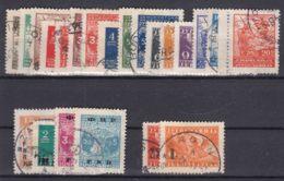 Yugoslavia Republic Partisans Stamps, Three Complete Sets 1945 Mi#461-468, 1946 Mi#492-493 And 1950 Mi#601-604 Used - 1945-1992 Socialistische Federale Republiek Joegoslavië