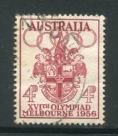AUSTRALIE- Y&T N°231- Oblitéré - Sommer 1956: Melbourne
