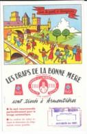 Buvard Les Draps De La Bonne Mére - Sur Le Pont D'avignon - Buvards, Protège-cahiers Illustrés