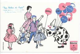 BUVARD Boussac - Aux Reflets De Paris - Textile & Vestimentaire