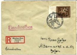 Alemania Imperio Nº 612 En Sobre - Covers & Documents