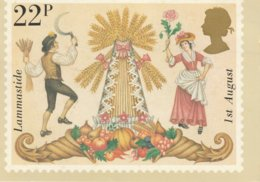 22 P Stamp United Kingdom Lammastide  1st August - Stamps (pictures)