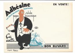 Buvard Colle Adhesine - Buvards, Protège-cahiers Illustrés
