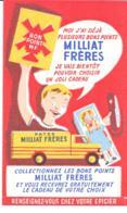 Buvard Pâtes Milliat Fréres - Alimentaire