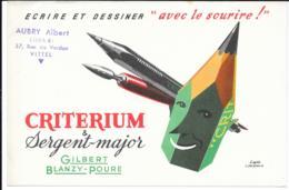 Buvard Critérium - Papeterie