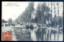 Cpa Du 45 Nargis Canal Du Loing -- L' écluse    LZ76 - Autres Communes