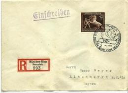Alemania Imperio Nº 639 En Sobre - Covers & Documents