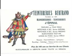 Buvard Teintureries Bertrand Epinal - Textile & Vestimentaire