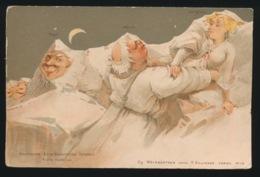 ILLUSTRATION -- Gg WEINGARTNER Vorm KILLINGER Scène Nocturne N° 113 - Autres Illustrateurs