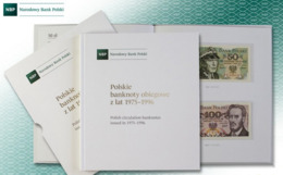 * Poland Set Of 23 Banknotes 1975 - 1996 ! UNC ! In The Official Booklet - Album - Poland