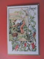 CHROMO Doré_ Au Planteur De Caïffa_Fgb. St. Martin Paris_Le Piment_Chromo Gruyelle - Otros